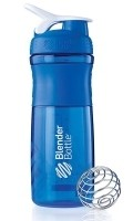 Geschenke für Fitnessfreaks Blender Bottle modern dunkelblau