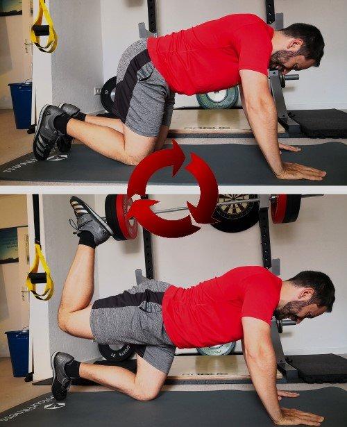 Die besten Bodyweight-Fitnessübungen für zuhause und unterwegs Kick-Backs
